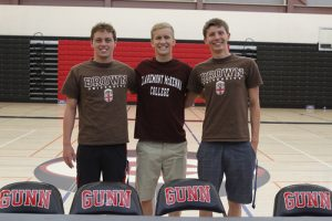 Boys Swimming Signings