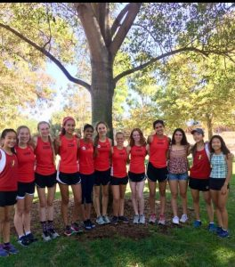 Girls Varsity Cross Country 2019