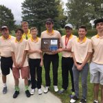 Incline High School Boys Varsity Golf finishes 1st place