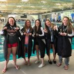 Incline High School Girls Varsity Swimming finishes 3rd place