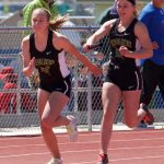 Incline High School Girls Varsity Track finishes 4th place