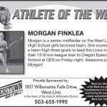 Athlete of the Week  4-24 – 4-28