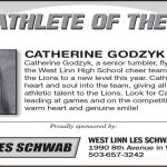 Athlete of the Week 9-28