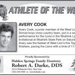 Athlete of the Week – 10-5