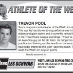 Athlete of the Week – Trevor Pool