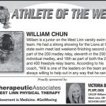 Athlete of the Week – William Chun