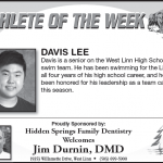 Davis Lee – Athlete of the Week