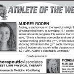 Audrey Roden – Athlete of the Week