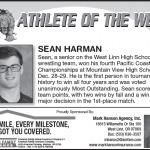 Sean Harman – Athlete of the Week
