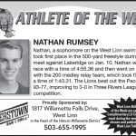 Athlete of the Week – Nathan Rumsey