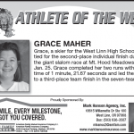 Athlete of the Week – Grace Maher