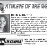 Athlete of the Week – Reem Alharithi