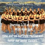 DEBS – Friend's and Family Night – State Competition