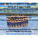 Dance Team Tryout Flyer