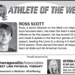 Athlete of the Week – Ross Scott