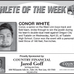 Athlete of the Week – Conor White
