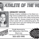 Athlete of the Week – Gracey Hook