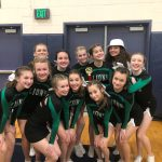 JV Cheer Finish 2nd @ Lake Oswego Competition