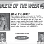 Athlete of the Week – Cami Fulcher