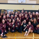 Debutantes Placed 2nd in Show Division this weekend at the Philomath HS Dance