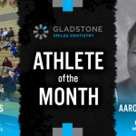 The Gladstone Smiles Dentistry January Athlete of the Month is…
