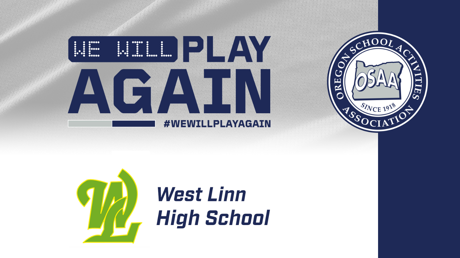 We Will Play AGAIN