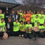 Kaneland High School Boys Varsity Cross Country finishes 2nd place