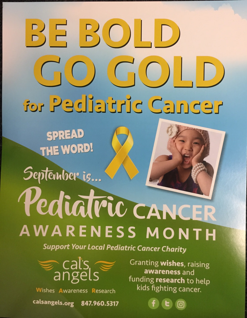 Going Gold with Cal's Angels on Friday!