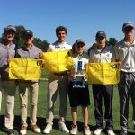 Varsity Golf finishes 1st place at Sterling Invite