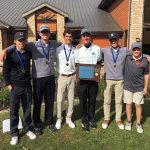 Varsity Golf finishes 1st place at NIBXII Conference –