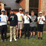 Fresh/Soph Golf finishes 1st place at NIBXII Conference Tournament