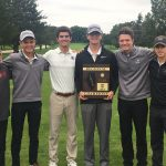 Varsity Golf finishes 1st place at IHSA Regional