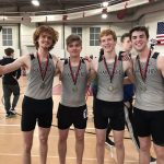 Knights led by 2 event winners, 7 top 3 finishes, and 22 total PRs at Huntley Last Chance Indoor Invite