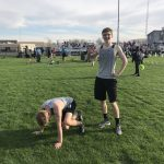 Boys Track give it their all vs Oswego