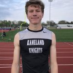 Pr's galore for Boys Track at Rochelle JV Invitational