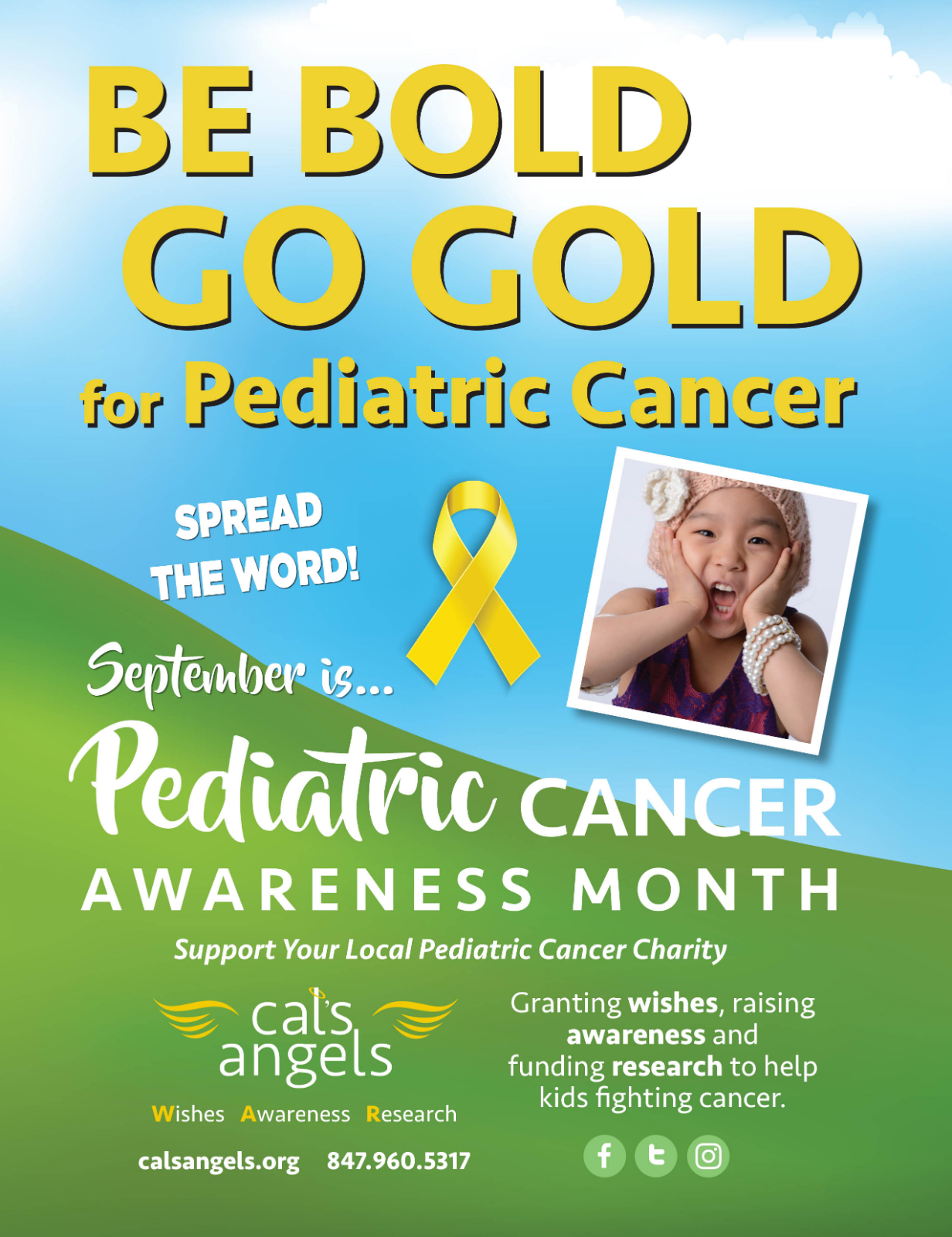 KHS is Going Gold for Pediatric Cancer Awareness!