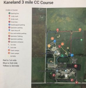 Kaneland Larry Eddington Cross Country Invitational Course Map