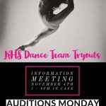Dance Team Tryout Information