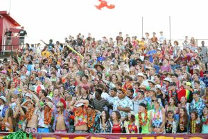 Westerville North Opening Night (student section and sidelines)