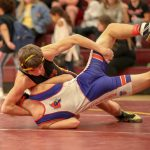 Warriors Dominate in Dual Meets