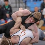 Warrior Wrestlers Compete in District Tournament; Three Wrestlers Advance to States
