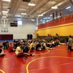2008 Warrior State Champion, Chris Kline, returns home to work with Warrior Wrestlers