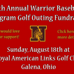 Baseball fundraiser at Royal America Links Golf Club on August 18th!
