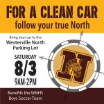 Boys Soccer CAR WASH Saturday, Aug 3