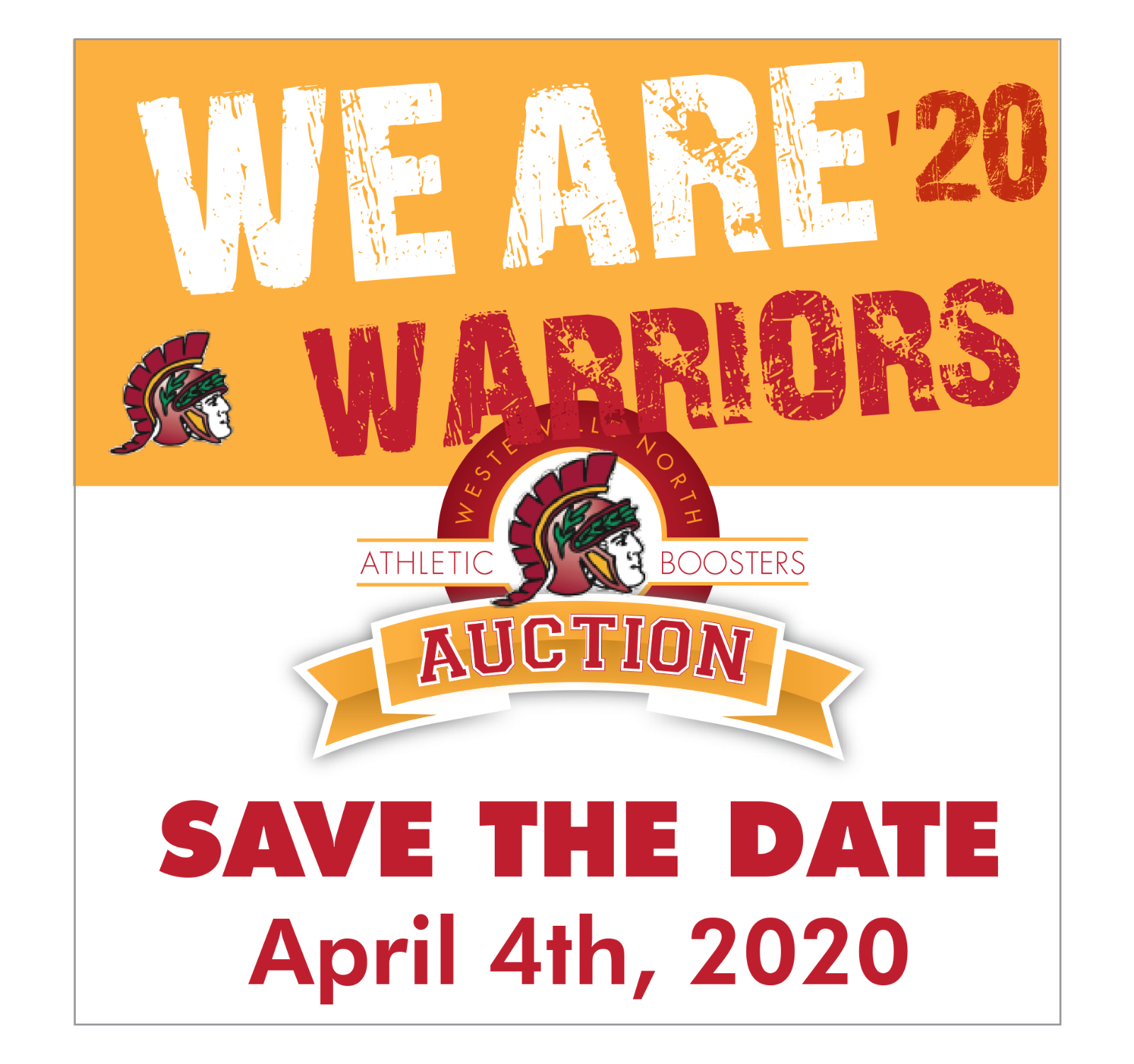 Booster Auction 2020: SAVE THE DATE