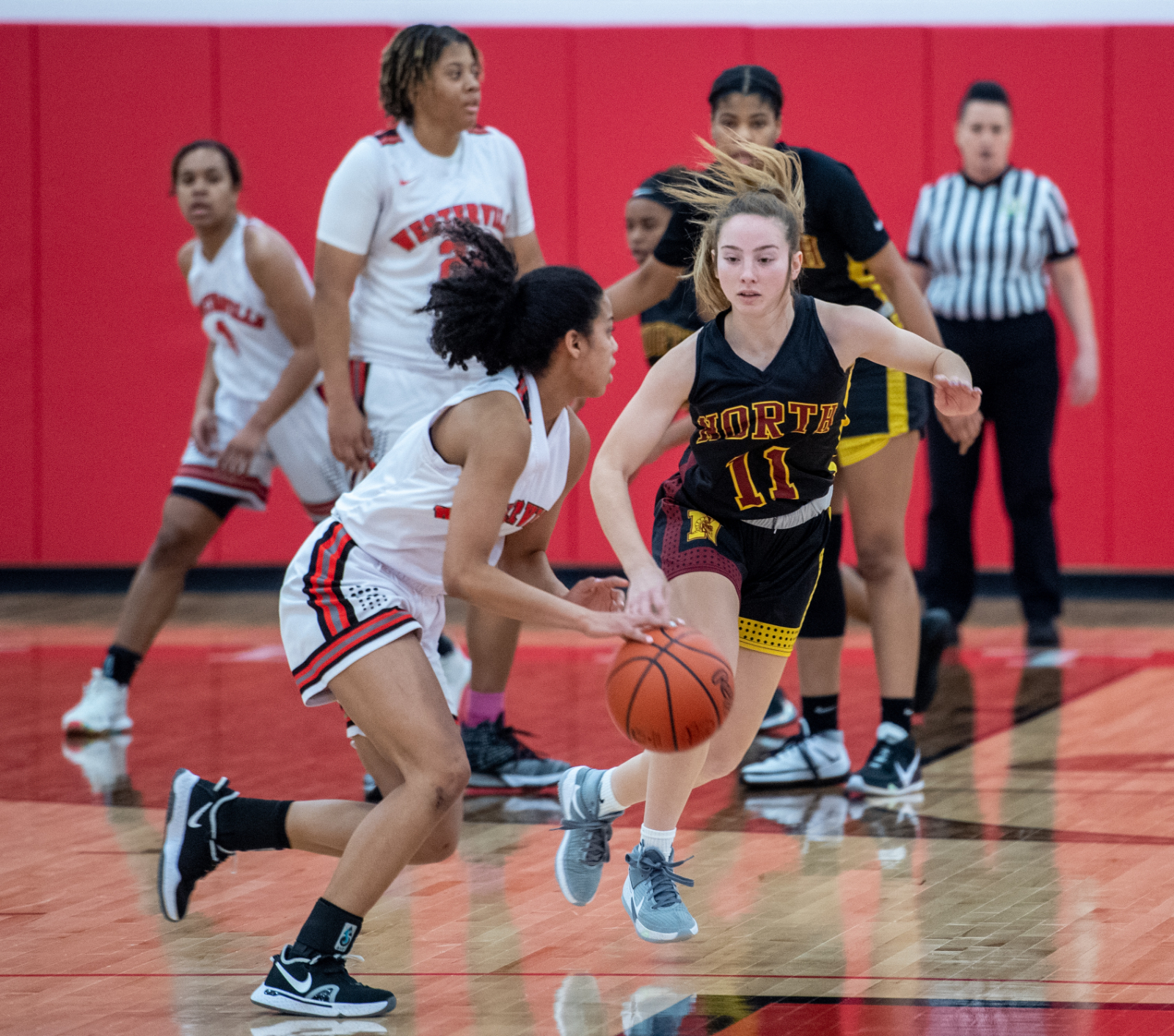 PHOTO GALLERY: North girls defeat South 52-49