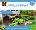 Spring is here! Need mulch? Buy Ohio Mulch gift cards from Boys Volleyball!