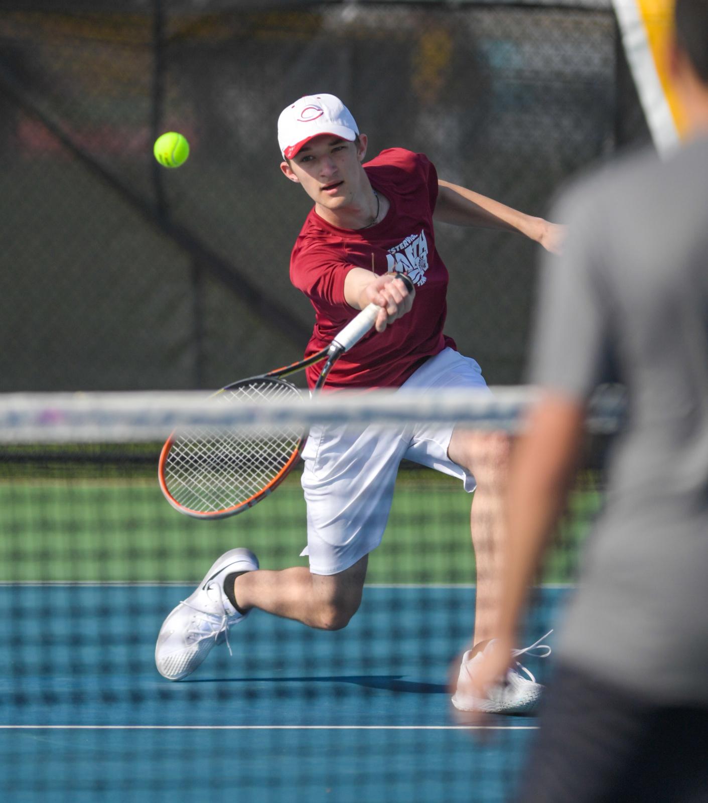PHOTO GALLERY: North boys tennis team defeats Franklin Heights