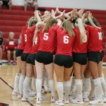 Varsity Volleyball Gets Big Win on the Road vs. Perkins