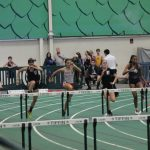 Three Huron Tracksters Compete at Tiffin Indoor Meet